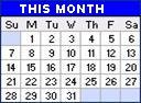 PTCBMX current month events calendar