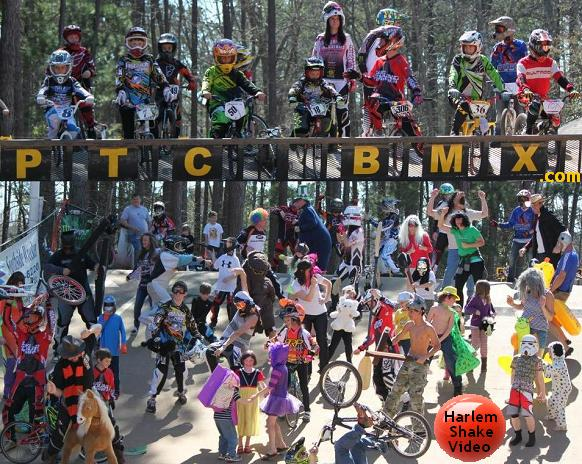 PTCBMX Harlem Shake video